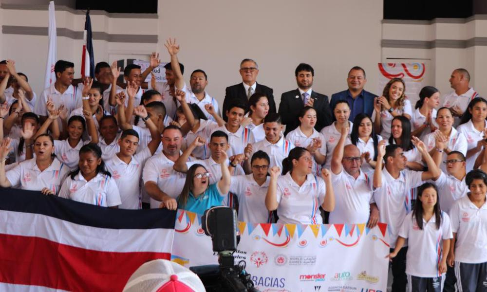 El Progerama de Olimpiadas Especviales dispondrá de un gimnasio para el desarrollo de sus competencia y la preparac´òn de sus atletas.