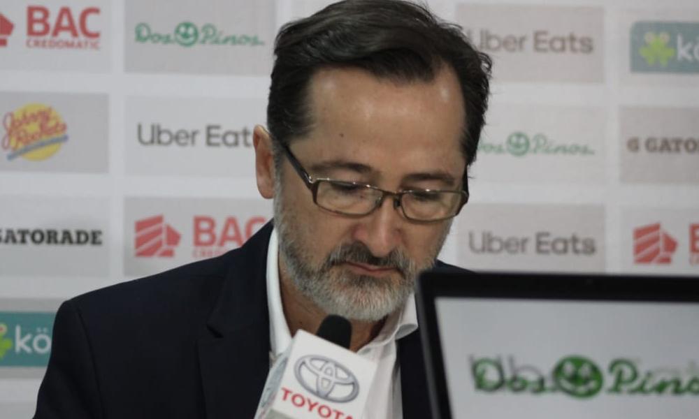 Juan Carlos Rojas, presidente del Saprissa.