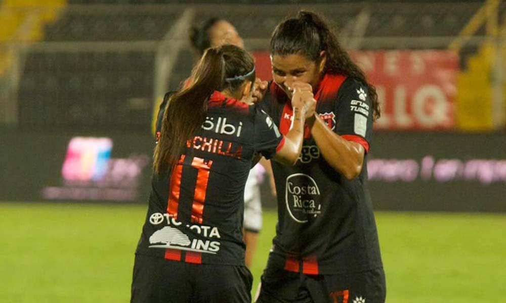 María Fernanda Barrantes quedó fuera de Liga Deportiva Alajuelense para la temporasda 2021.