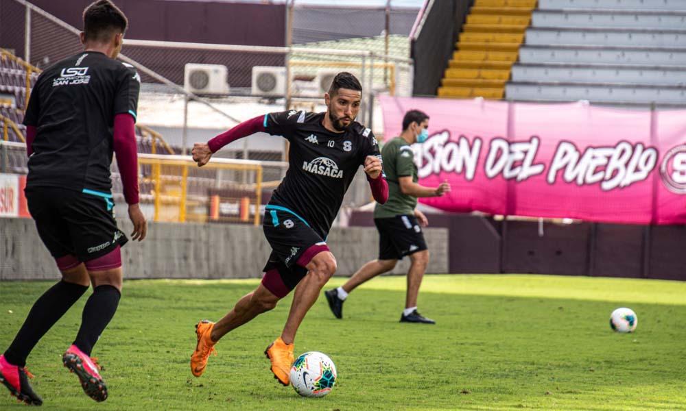 Saprissa enfoca cada detalle en sus entrenamientos, con miras al juego ante el Marathón, de Honduras, en Liga CONCACAF.