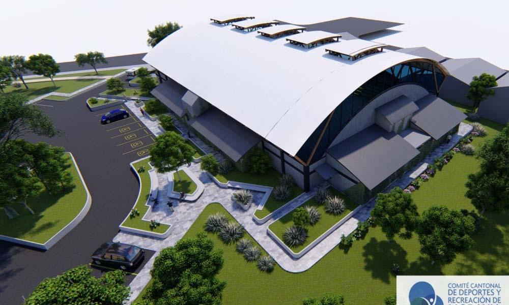 Así lucirán las nuevas instalaciones deportivas en Moravia, hacia el final del próximo año.