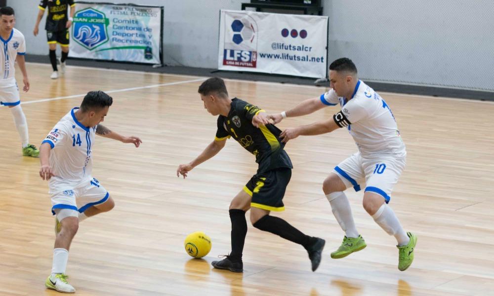 Esparza y San Iidro cerraron su encuentro con empate a 1 gol, en la segunda jornada del Torneo de Copa de futsal.