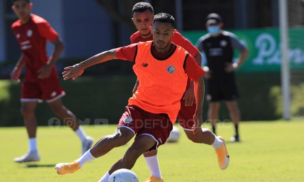 Jiummy Marín disfruta su regreso a la Selección. Por lo pronto, entrena con la Preolímpica.