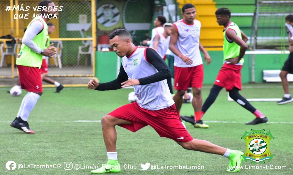 Limón FC cerró su preparación esta tarde, pensando en el juego de reposición ante Herediano.