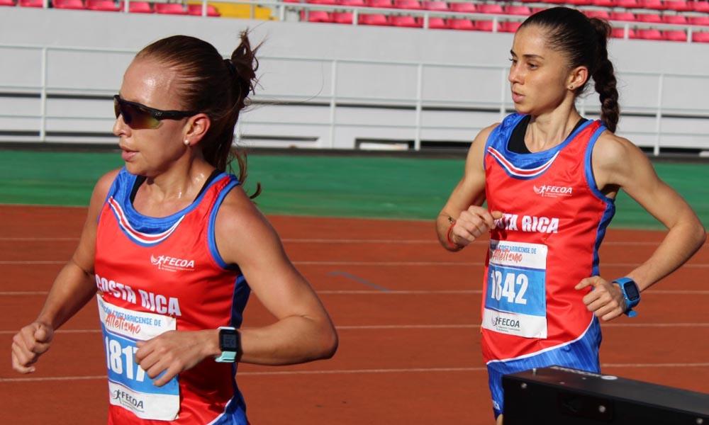 Mónica Vargas se impuso en la prueba de 800 metrosa planos.