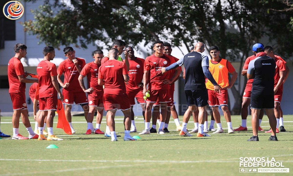 La Selección Preolímpica volvió a los entrenamientos este lunes, sin jugadores de Alajuelense y Herediano.
