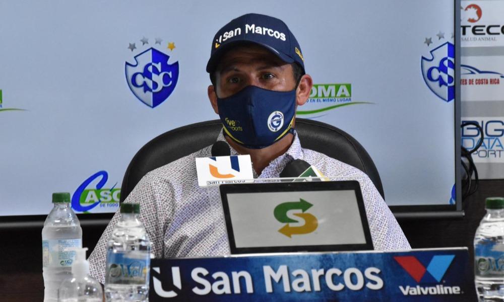 Alexander Vargas, técnico de Guadalupe, considera que su equipo manejó muchos tramos del juego ante Cartaginés.