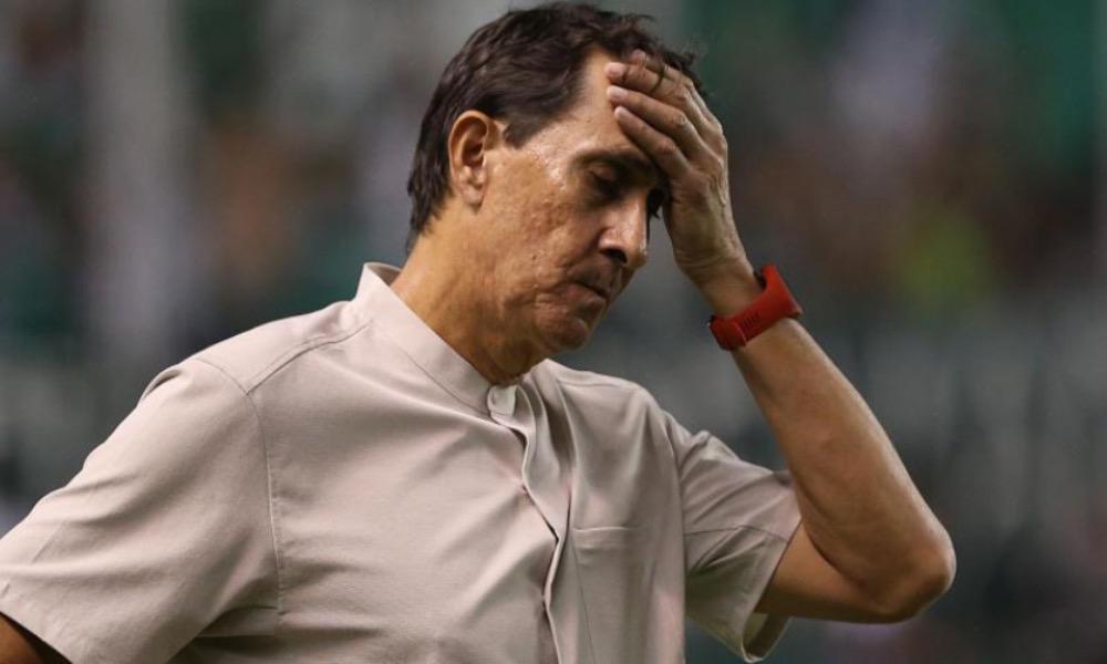 Alexandre Guimaraes tuvo su primer traspié con el Atlético Nacional, al quedar fue de la Copa en Colombia.