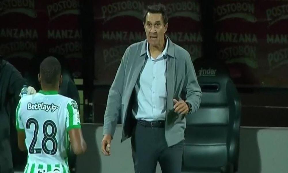 Alexandre Guimaraes arrancó una victoria con su equipo, el Atlético Nacional, en el inicio de la liga colombiana.