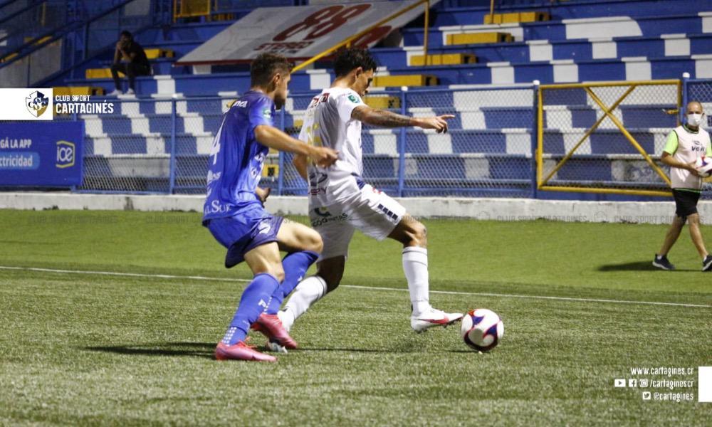 Los propios jugadores del Cartaginés admiten que no tuvieron un buen partido en la derrota ante el Municipal Pérez Zeledón.