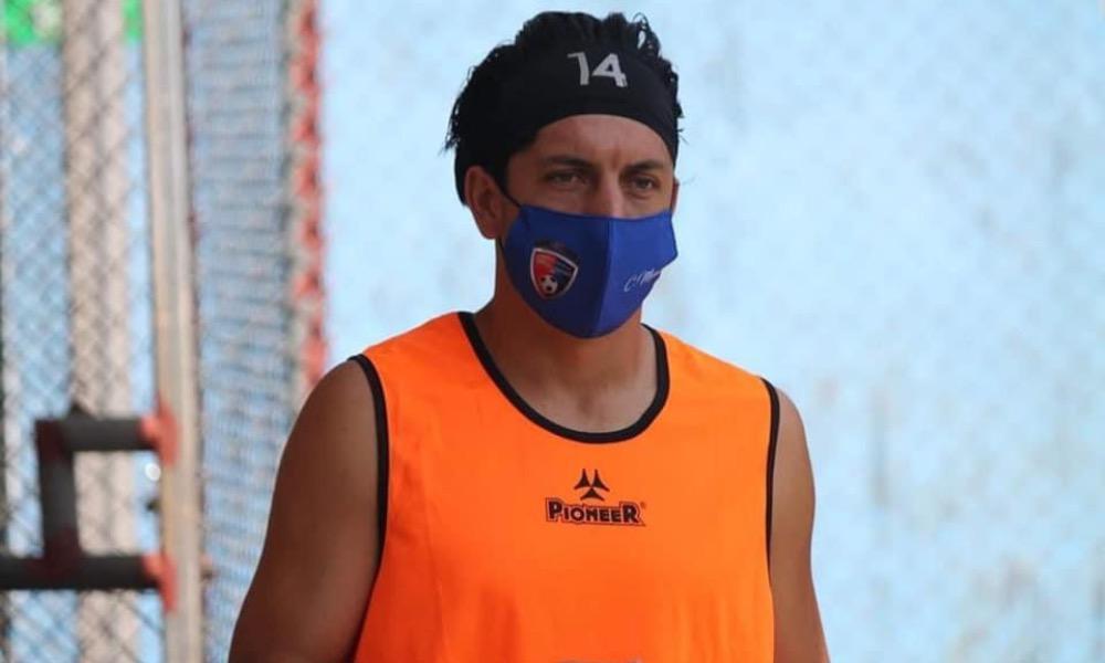 Cristopher Meneses recuperó el gusto por el fútbol y espera volver a su mejor nvel en poco tiempo.