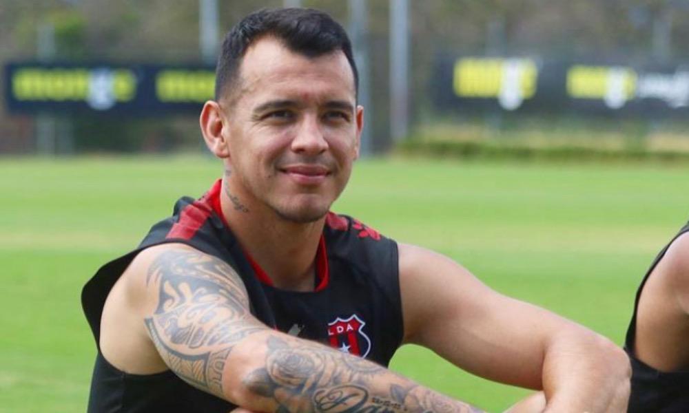 Daniel Arreola, el mexicano de Liga Deportiva Alajuelene, habló de la forma en que le han recibido en el camerino.