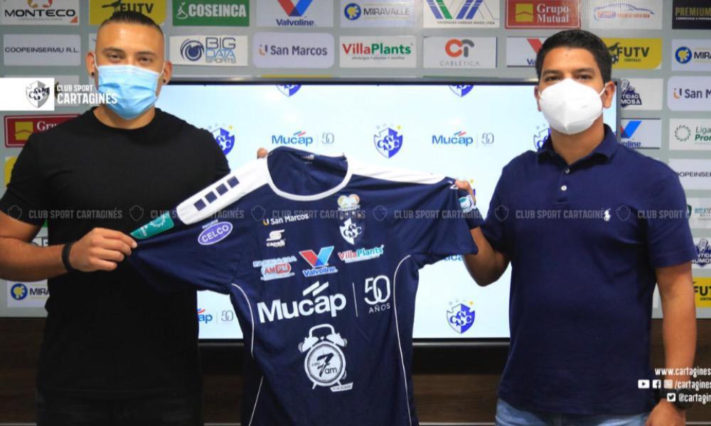 David Ramírez es nueva ficha del Cluhb Sport Cartaginés apara el Clausura 2021.