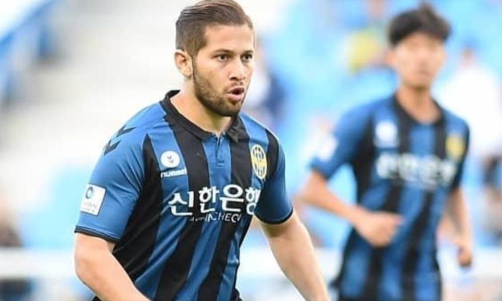 La ficha de Elías Aguilar vuelve a ser del Incheon United, club que readquirió su pae.
