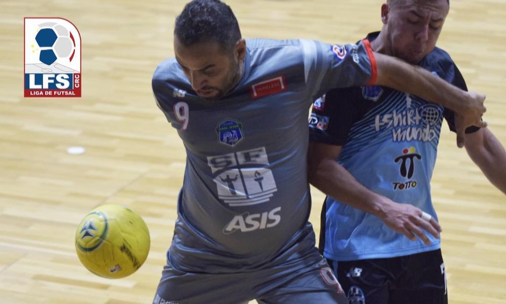 San francisco superó, 3 – 2, a Tshirt Mundo, en la más reciente jornada del futsal.