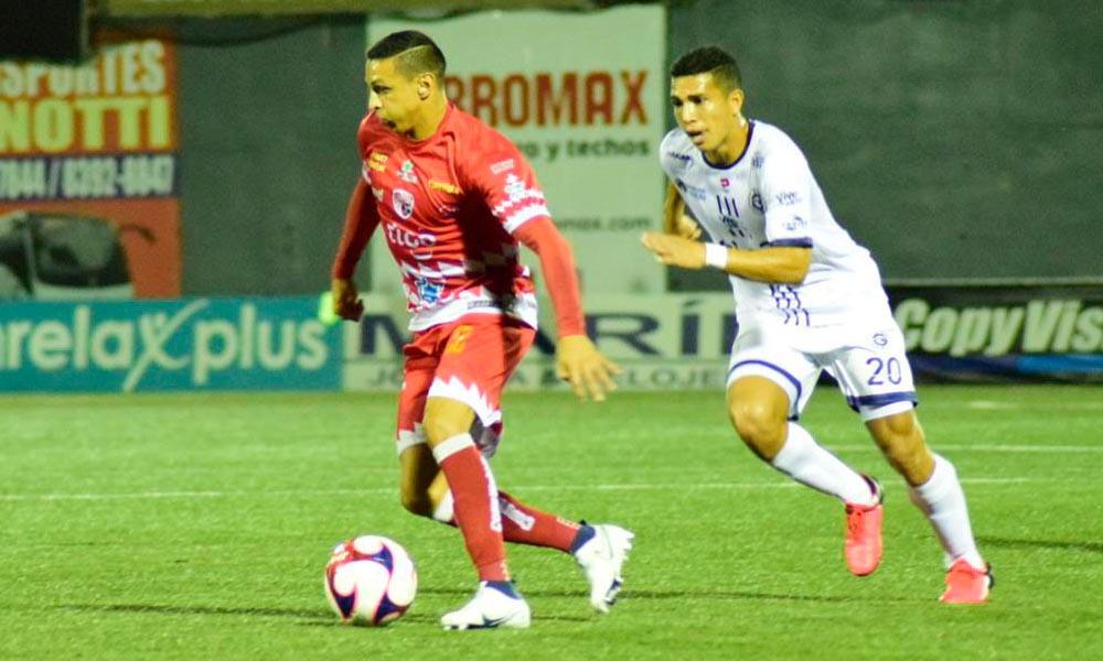 Santos y Guadalupe repartieron puntos en el juego de esta noche en Guápiles.