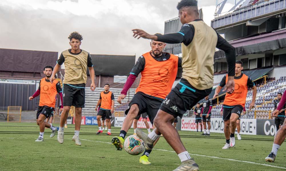 Saprissa cerró su preparación para la semifinal de Liga CONCACAF este jueves por la tarde.