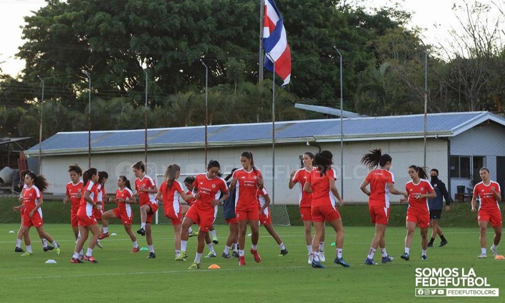 La Sele Femenina de Fútbol Mayor trabaja esta semana en el cuarto microciclo de los últimos dos meses.