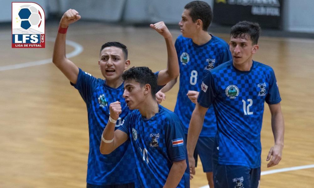 Escazú se clasificó a cuartos de finl de la Copa de Futsal tras vencer a CODEA.