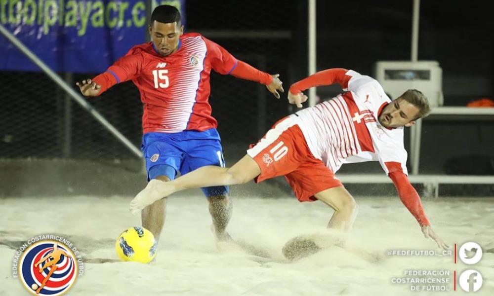 La Sele de Fútbol Playa tendrá una serie de fogueos de altísimo nivel ante Suiza.
