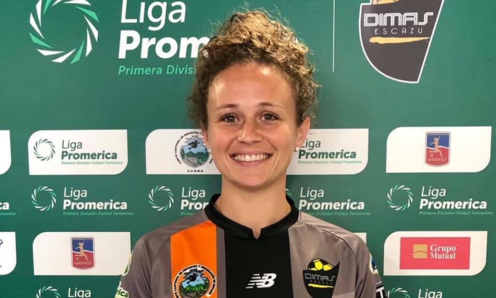 Jennie Lakip es una jugadora estadounidense que se integró a Dimas Escazú para la temporada 2021.