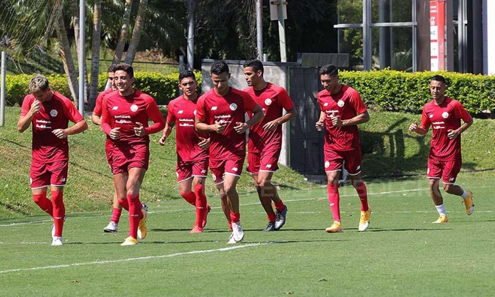 La Sele Preolímpica inició su último microciclo previo a los fogueos contra Honduras y el Campeonato Preolímpico de la CONCACAF.