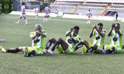 Capitaneados por Luis Pérez, anotador del primer gol, los limonenses celebraron en grande en el Ebal Rodríguez.