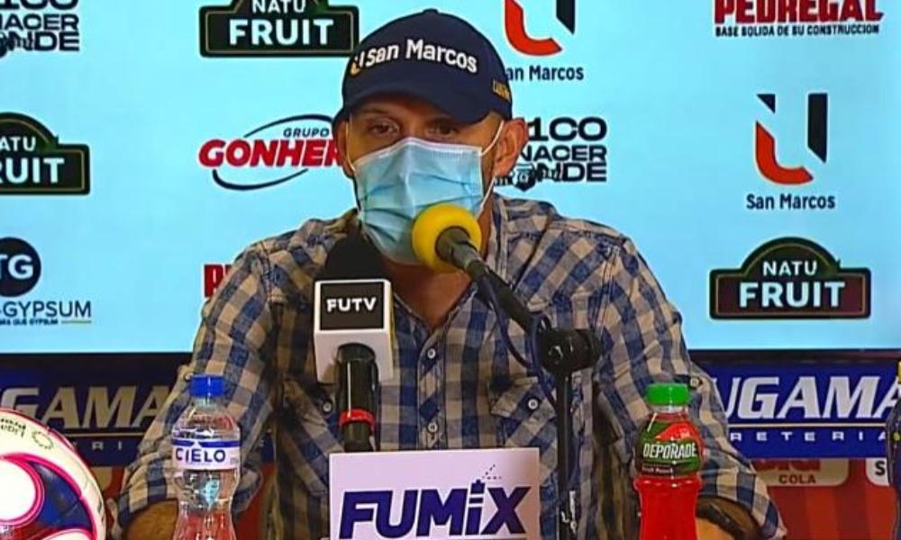Luis Marín, técnico del Herediano, resaltó el avance que está teniendo el equipo en cuanto a plasmar su idea dentro del terreno de juego.