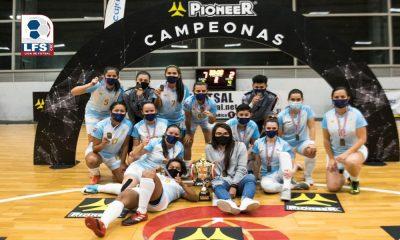 El CCDR Desamparados se coronó en el Torneo de Copa del Futsal, en la rama femenina.