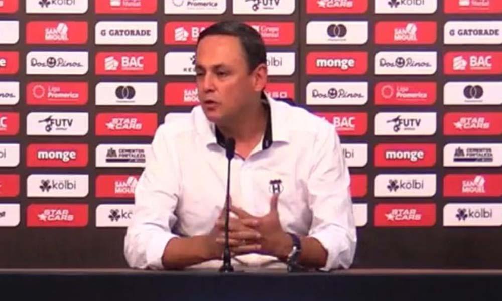 Fernando Ocampo, presidente de Liga Deportiva Alajuelense.