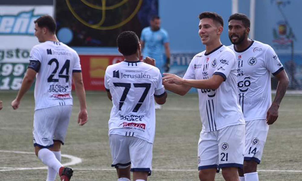 Guadalupe FC fue de fiesta a Guápiles esta tarde. Luego de 25 minutos de partido parecía que iba a sufrir, pero el fútbol tiene esas cosas.