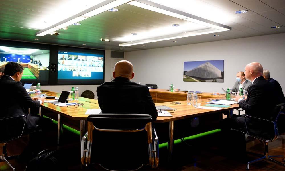 La reunión del IFAB de este viernes se realiazó vía video conferencia, debido a las restricciones por la pandemia del COVID-19.