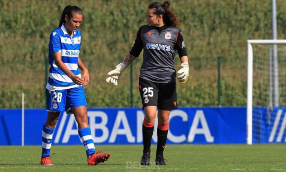 Stephannie Blanco fue titular mientras Noelia Burmúdez fue suplente con el Deportivo el fin de semana.