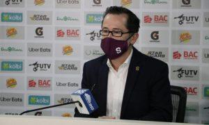 Juan Carlos Rojas, presidente de Saprissa